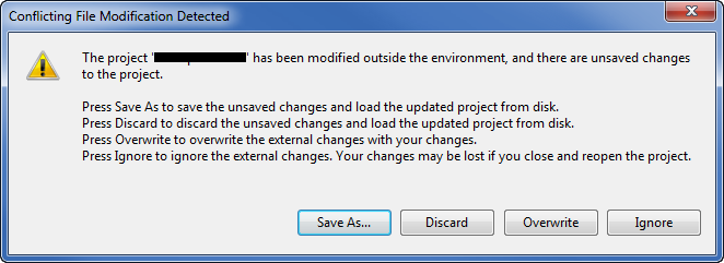 conflicting file dialog