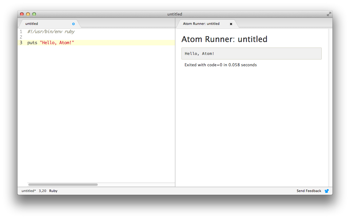 atom-runner screenshot