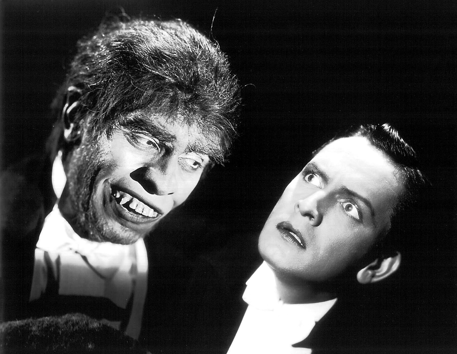 Screen grab from the 1931 movie Dr. Jekyll and Mr. Hide public domain
