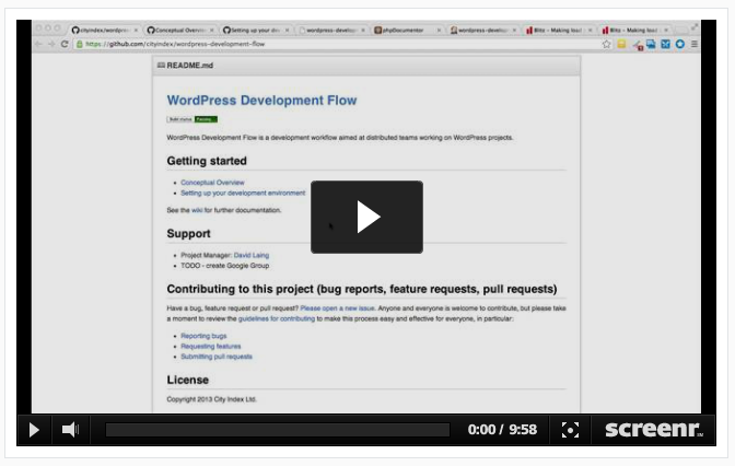Wordpress Dev Workflow