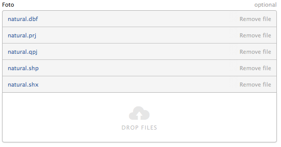 Multi File Upload UI