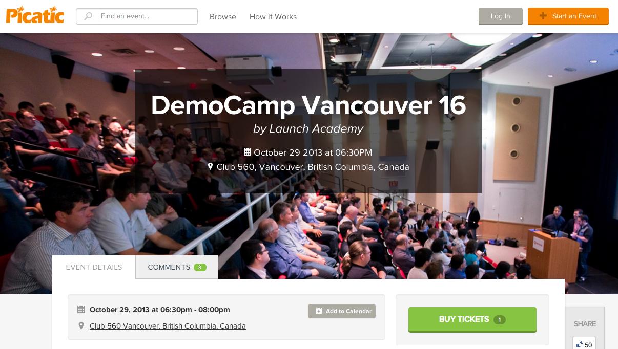 Vancouver DemoCamp 16