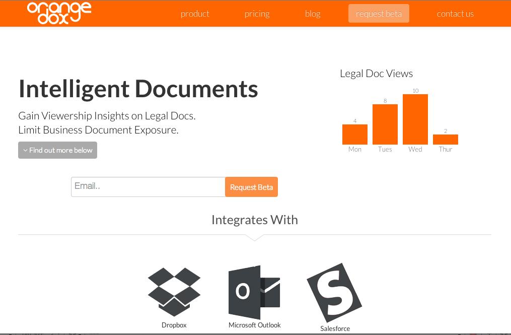 OrangeDox Homepage