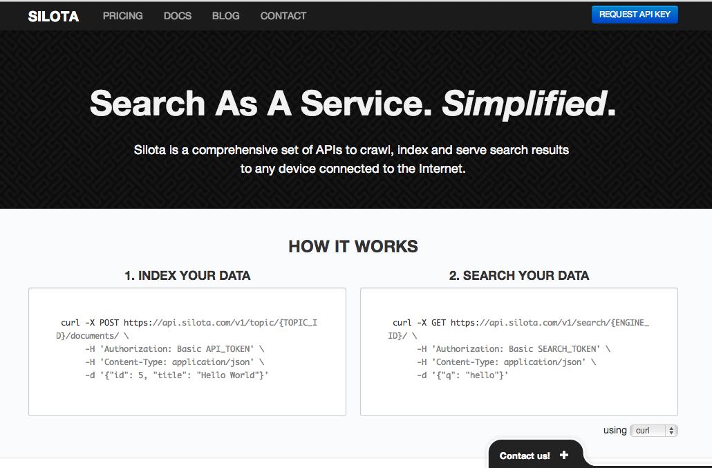 Silota Homepage