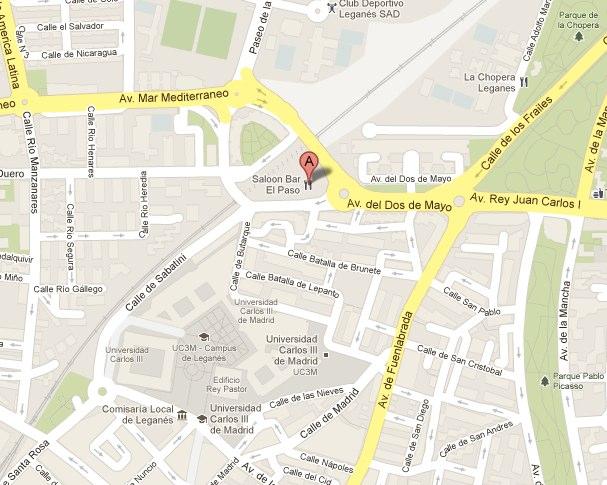 Saloon Bar El Paso Restaurant Avenida del Dos de Mayo Legane s Spain - Google Maps