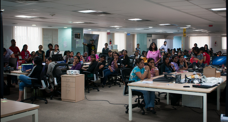 Rails Girls Event, Bangalore