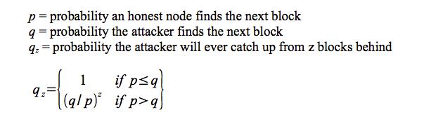 算力攻击的概率