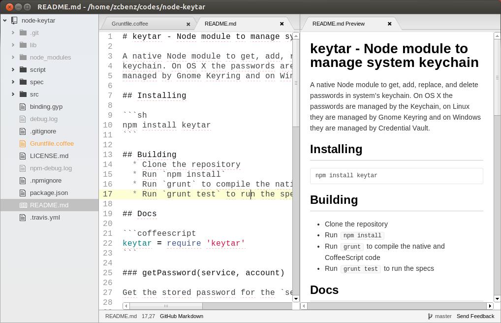 Linux build