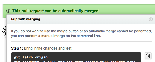 Merging Instructions