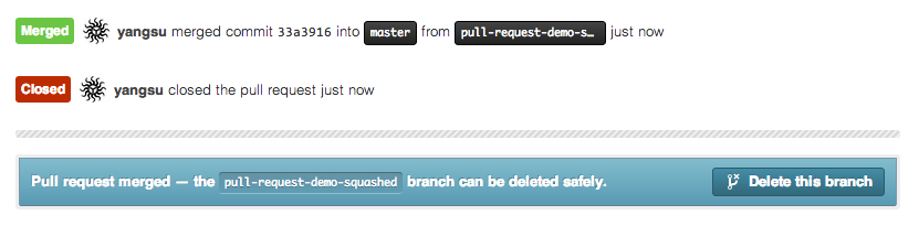 Closing a Pull Request