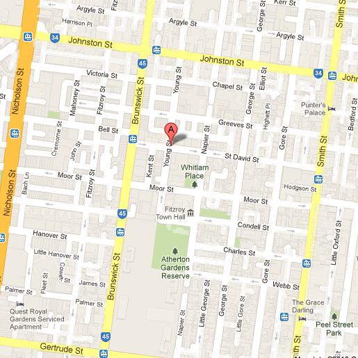 The Rainbow Hotel 27 St David Street Fitzroy Victoria - Google Maps 2013-04-17 15-51-26