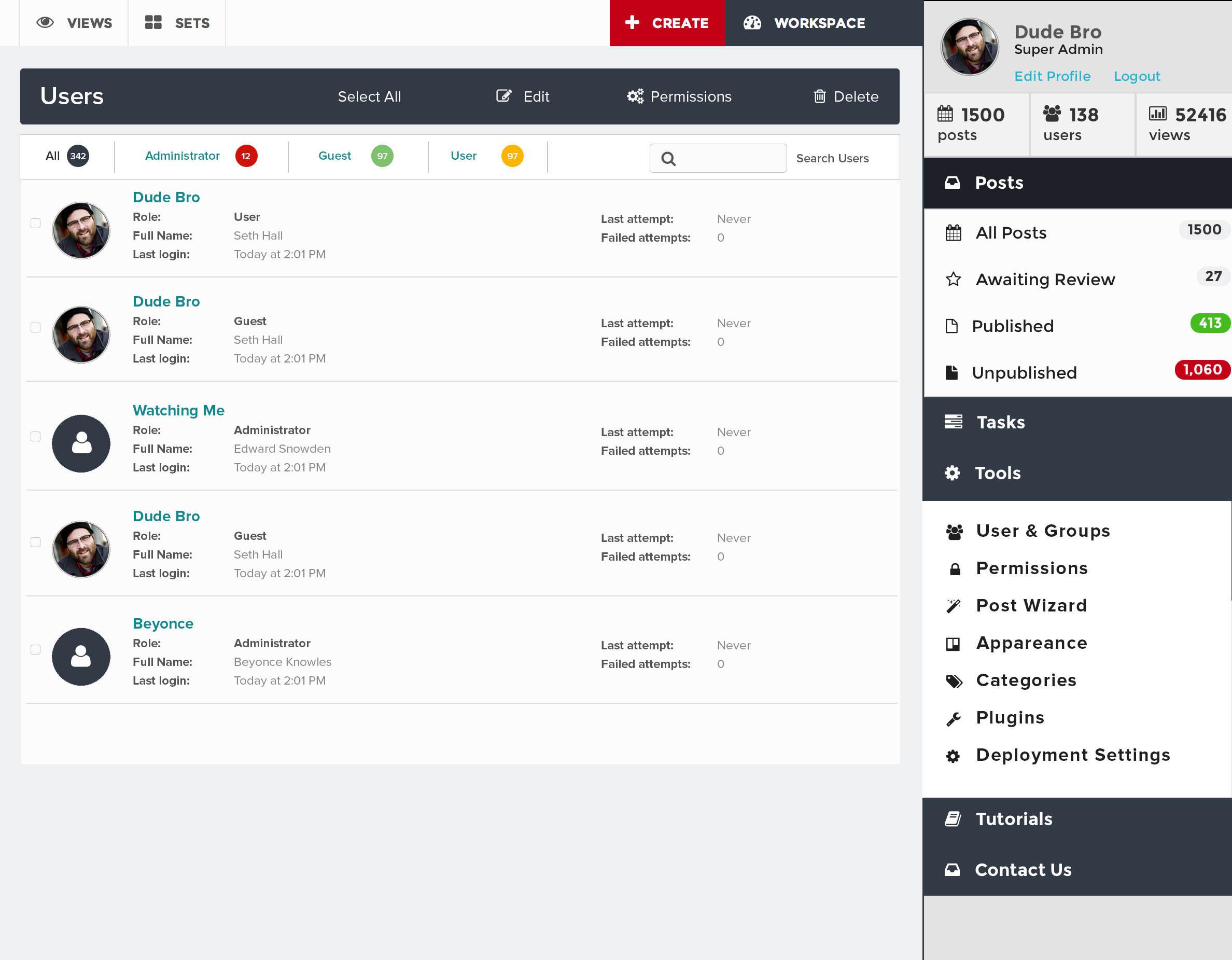 ushahidi 3 0_tools_users